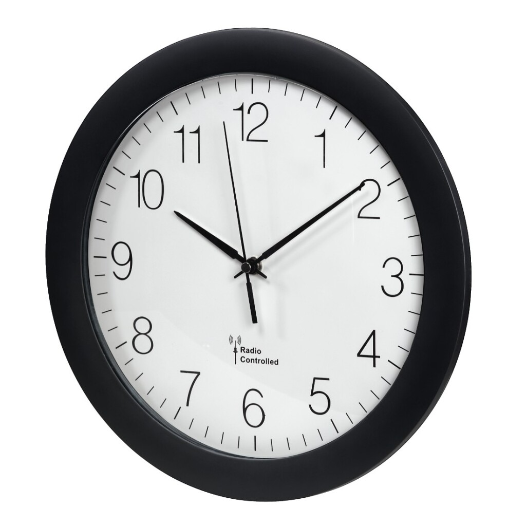 Hama Radiografische DCF-klok PG-300 Zwart