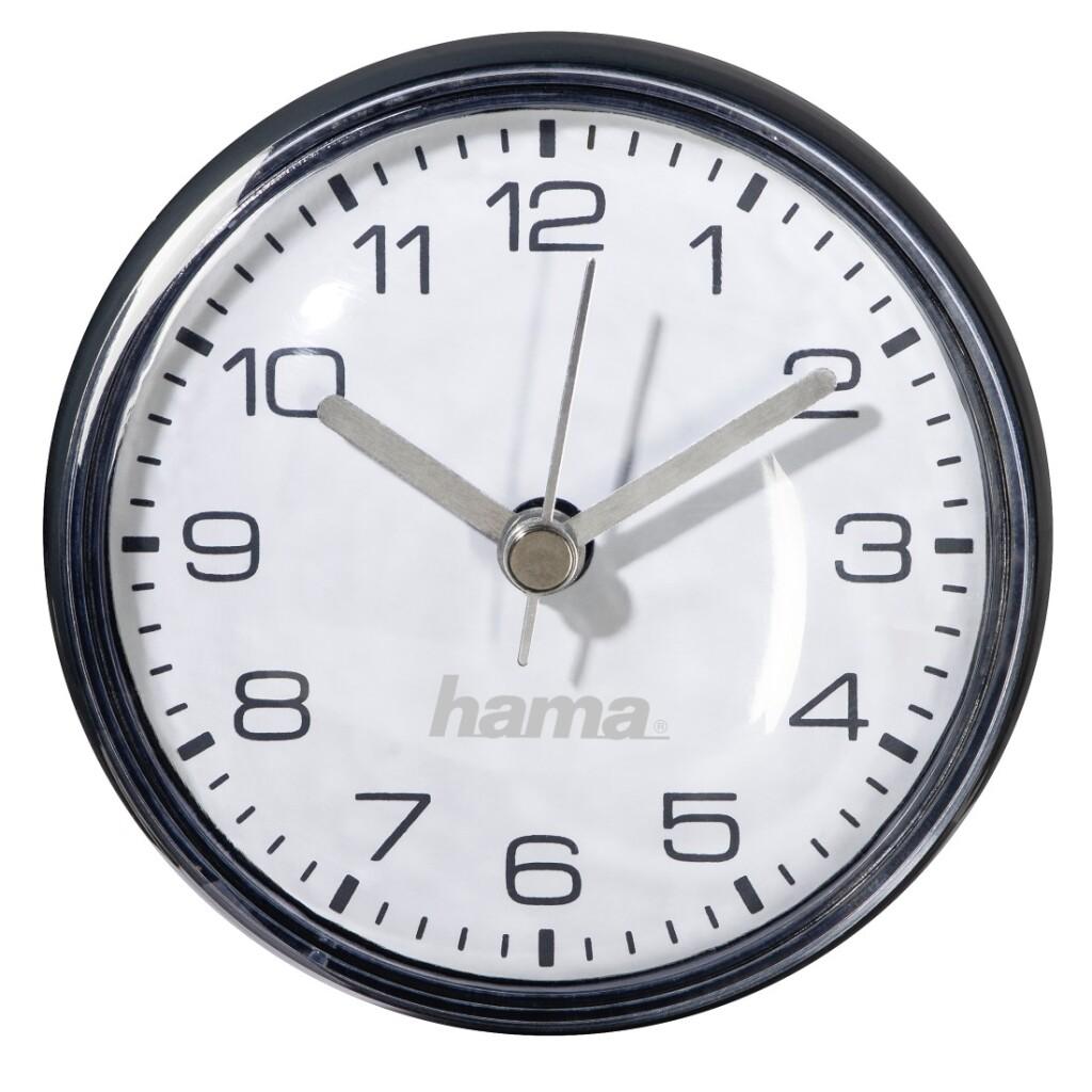 Hama Badkamerklok Mini Met Zuignap