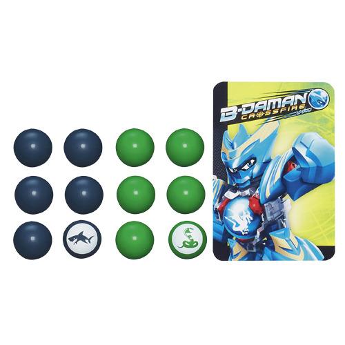 hasbro b-daman crossfire balls 16 stuks