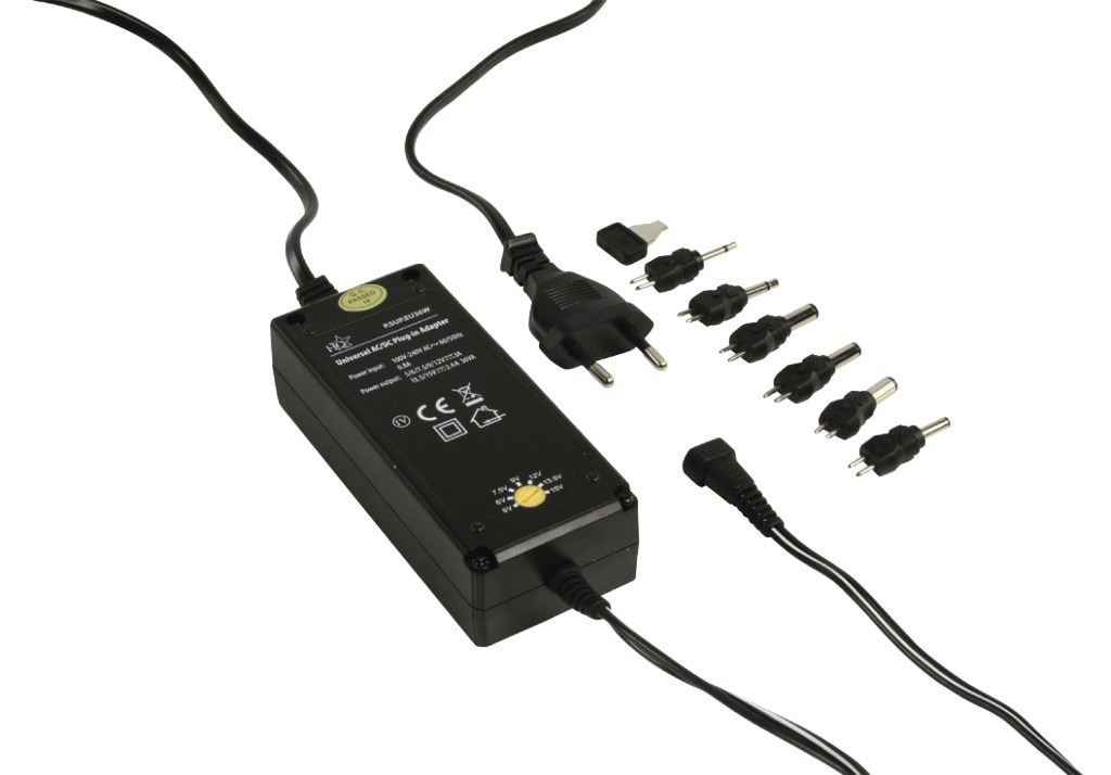 Hq P. sup. eu36w Universele Adapter 36 W