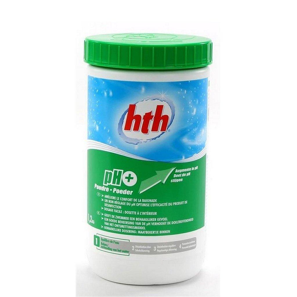 HTH pH Plus voor Zwembad 1,2 kg