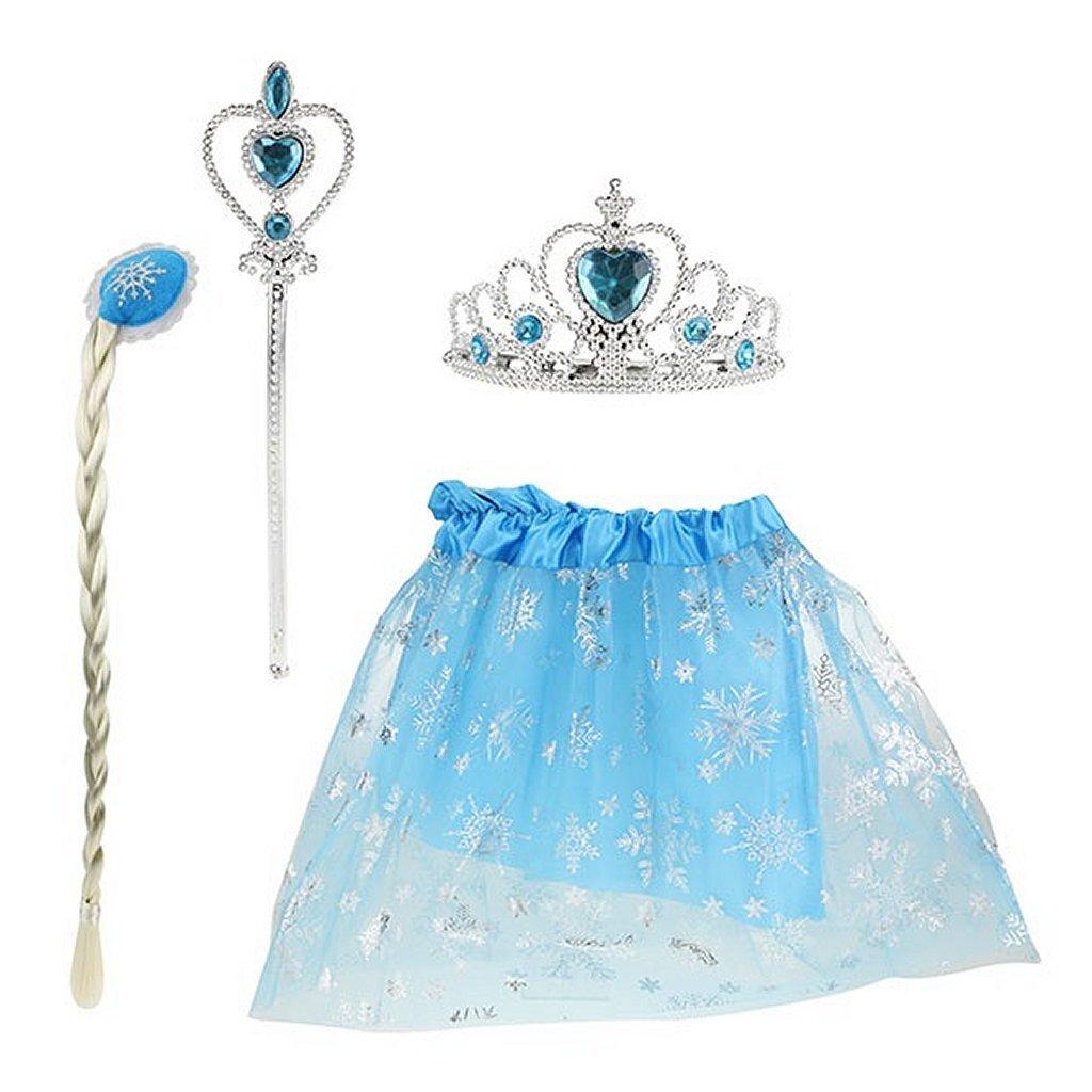 ice princess verkleedset 4-delig