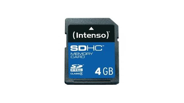 intenso 3401450 4 gb sdhc high capacity