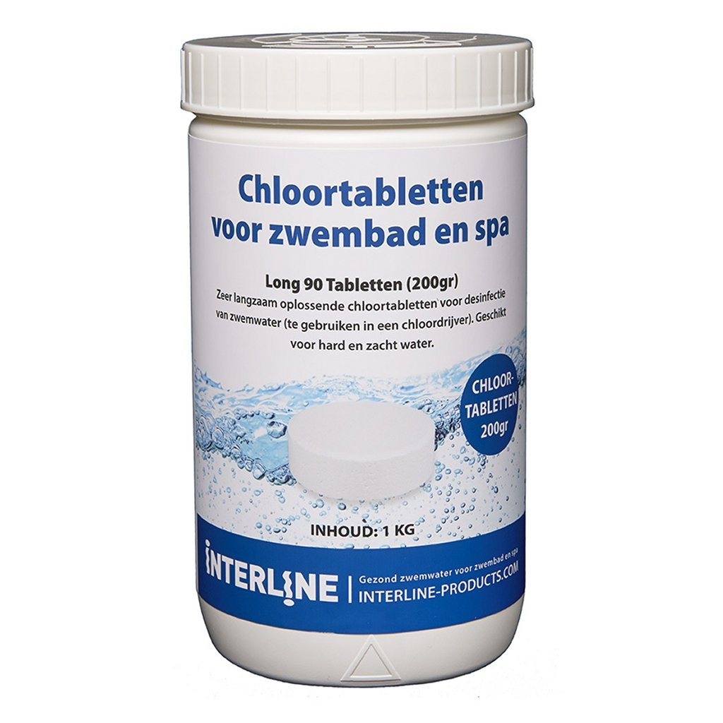 Interline Zwembad 200 Grams Chloortabletten 1 kg