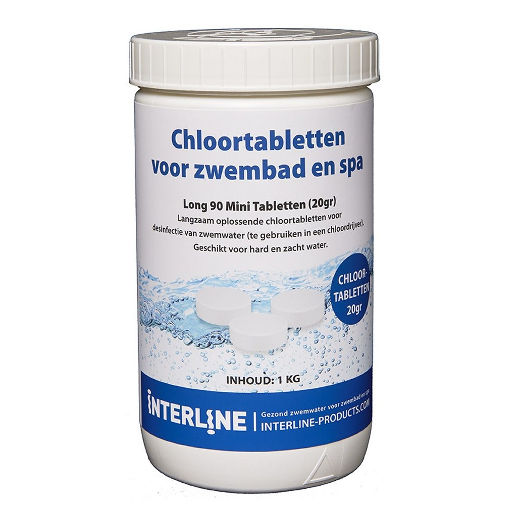 Interline Zwembad 20 Grams Chloortabletten 1 kg