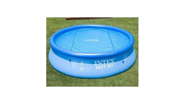 Intex 29023 Solar Cover Afdekzeil voor Zwembaden van 457 cm