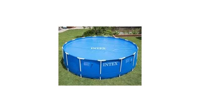 Intex 29024 Solar Cover Afdekzeil voor Zwembaden van 488 cm