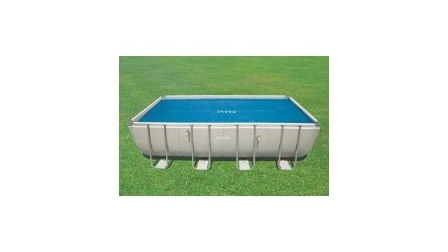 Intex 29027 Solar Cover Afdekzeil voor Zwembaden 732x366 cm