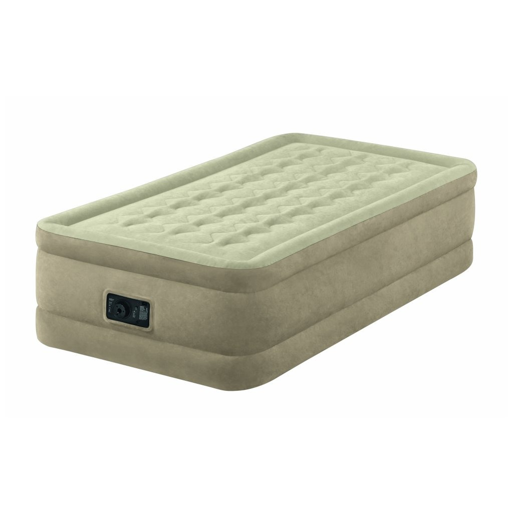 Intex 64456 Dura-Beam Airbed + Pomp 99x191x46 cm