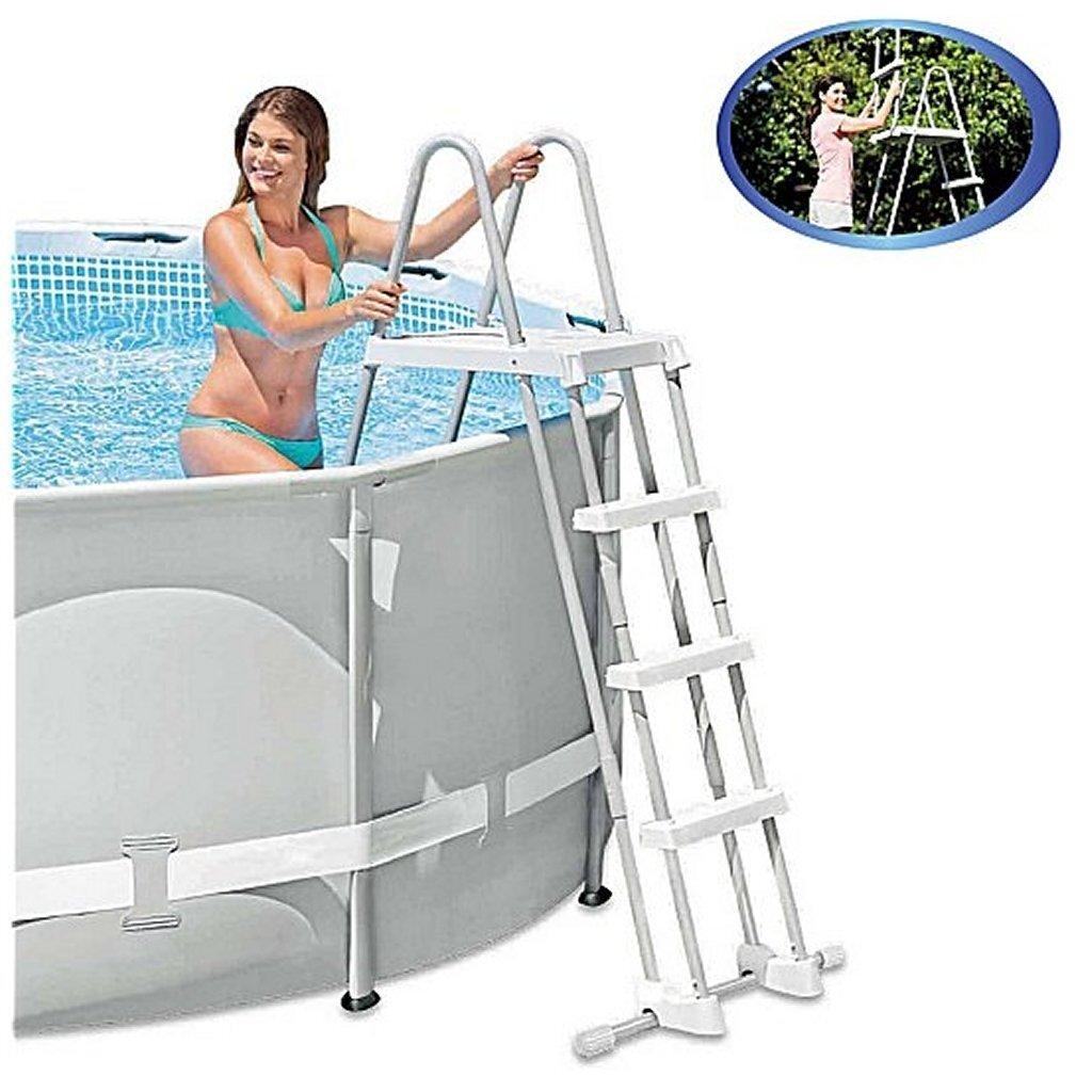 Intex 28073 Zwembadtrap voor 122cm met Verwijderbare Treden