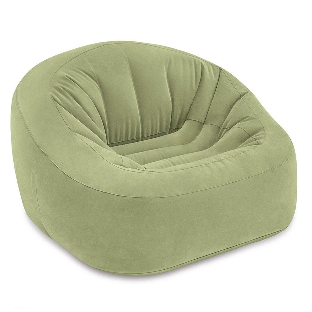 Intex 68576NP Club Opblaasbare Loungestoel 124x119x76 cm Groen