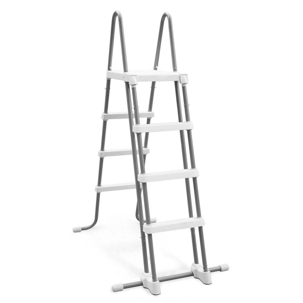 Intex 28076 Zwembad Ladder met Afneembare Treden TOT 122 cm