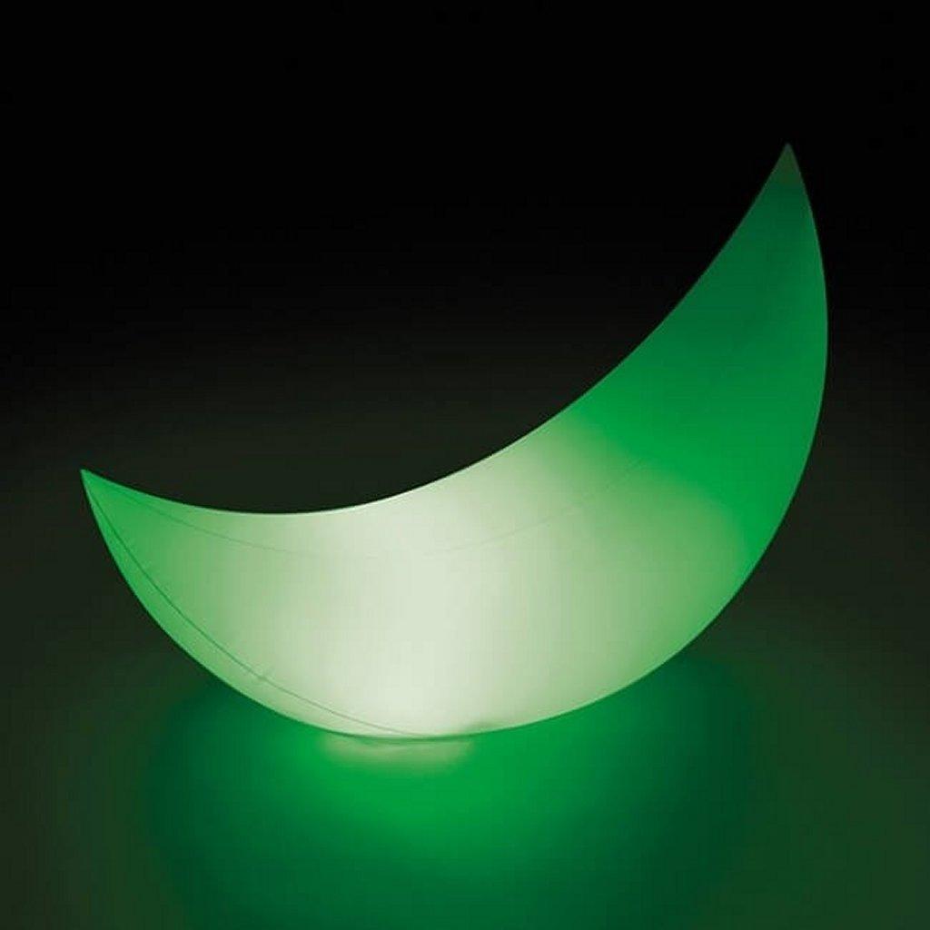 Intex 68693 Opblaasbare LED-Verlichting Halve Maan 135x43x89 cm