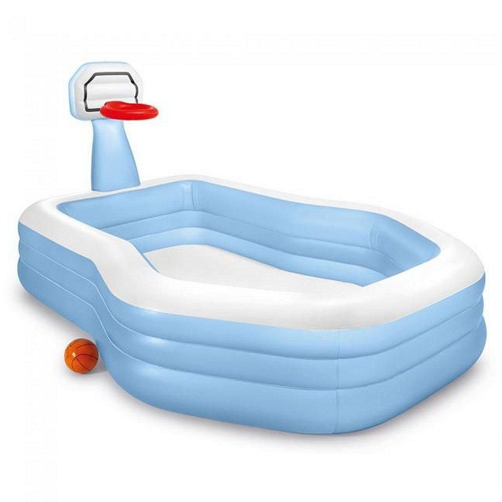 Intex 57183NP ShootinHoops Opblaasbare Zwembad 257x188x130 cm