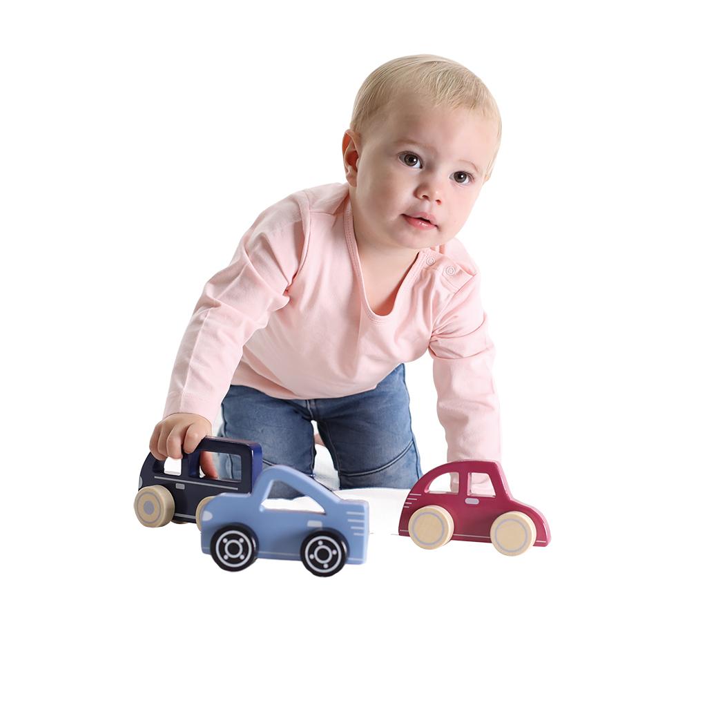 jipy houten auto assorti
