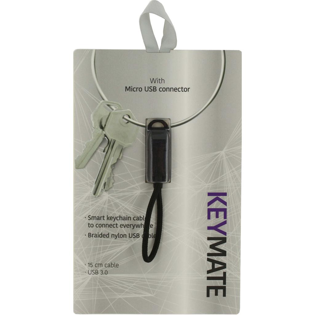 keymate laad/data kabel micro-usb 15cm