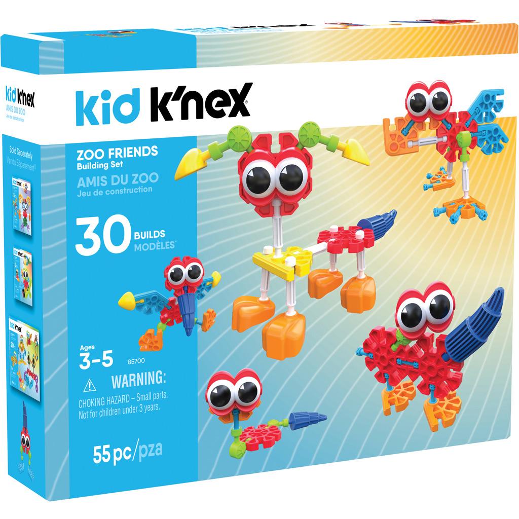 k'nex kid zoo friends bouwset