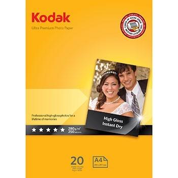 kodak ultra premium a4 280gr, 20 vellen fotopapier