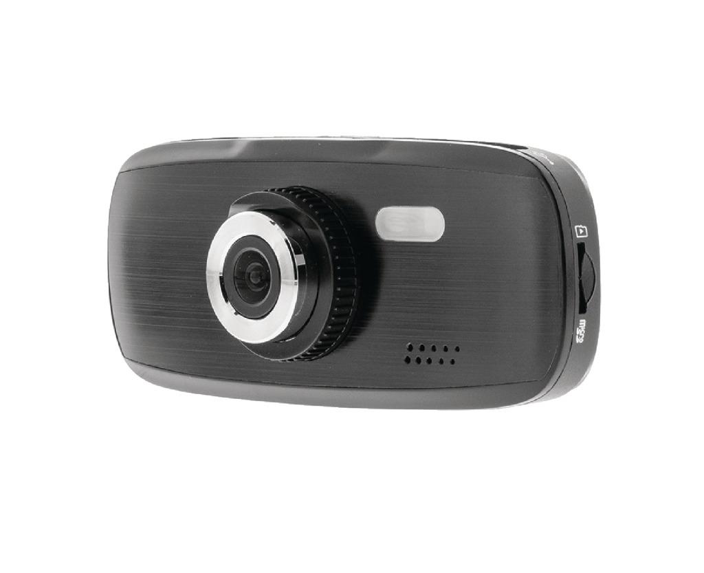 König SAS-CARCAM20 Full HD Dashcam met Zuignap Zwart