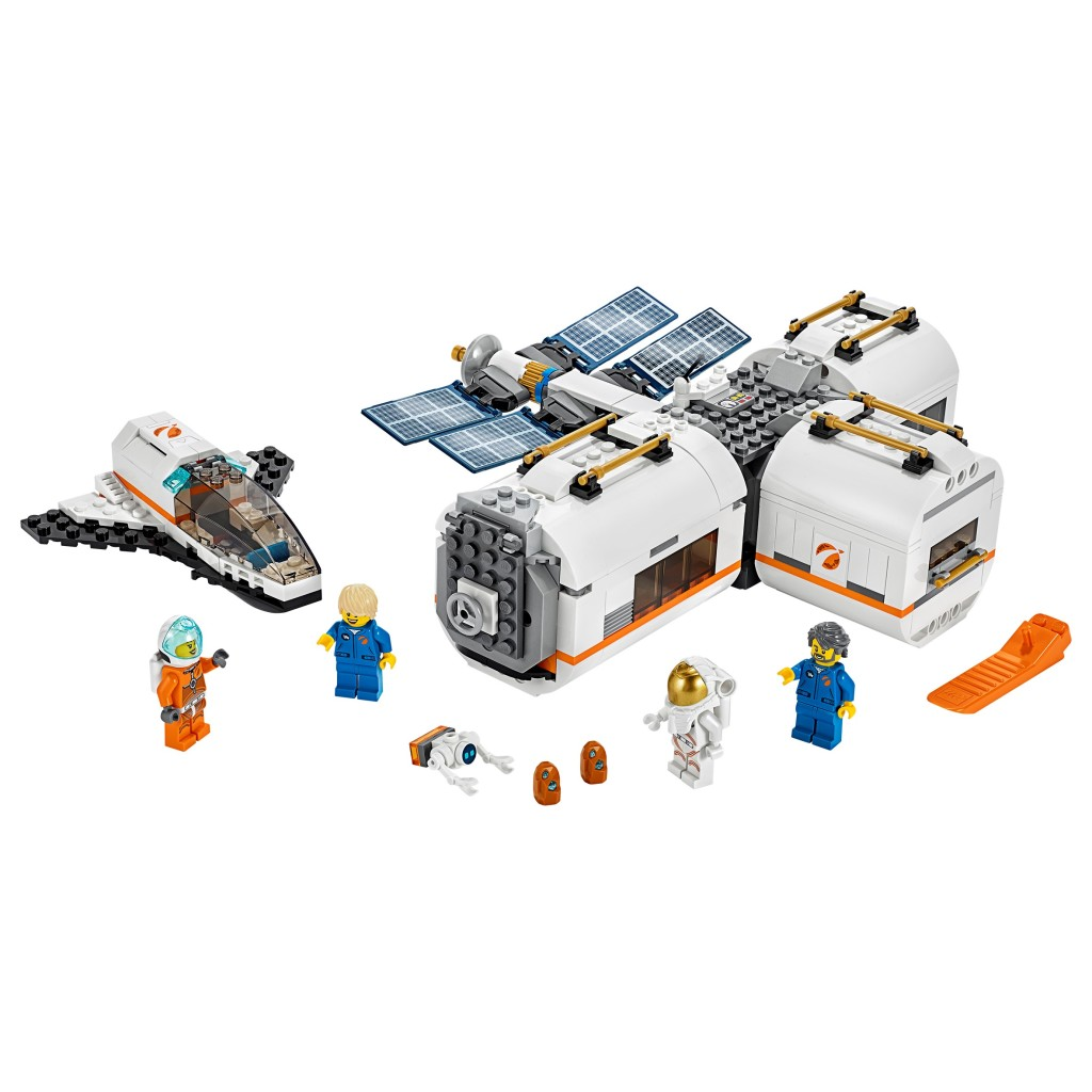 Lego City 60227 Space Lunar Space Station