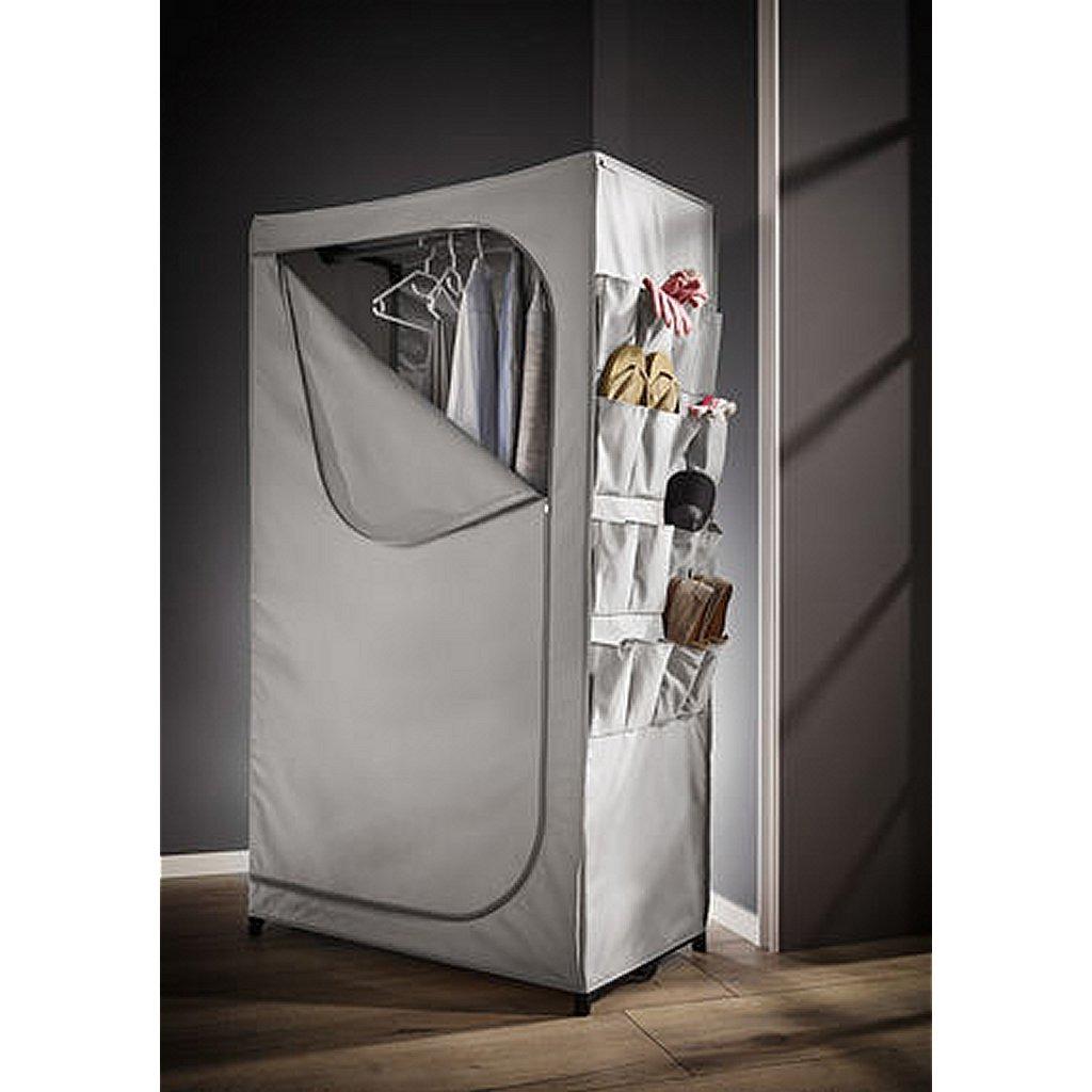 Leifheit 80002 Garderobekast 90x50x160 cm Grijs
