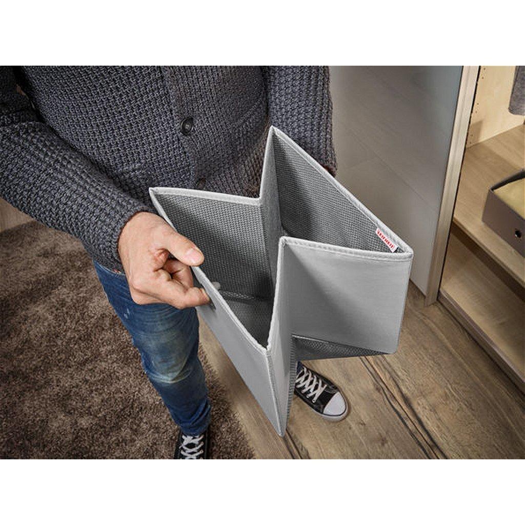 Leifheit 80008 Small Box Set 27.5x28x13 cm 2 Stuks Grijs