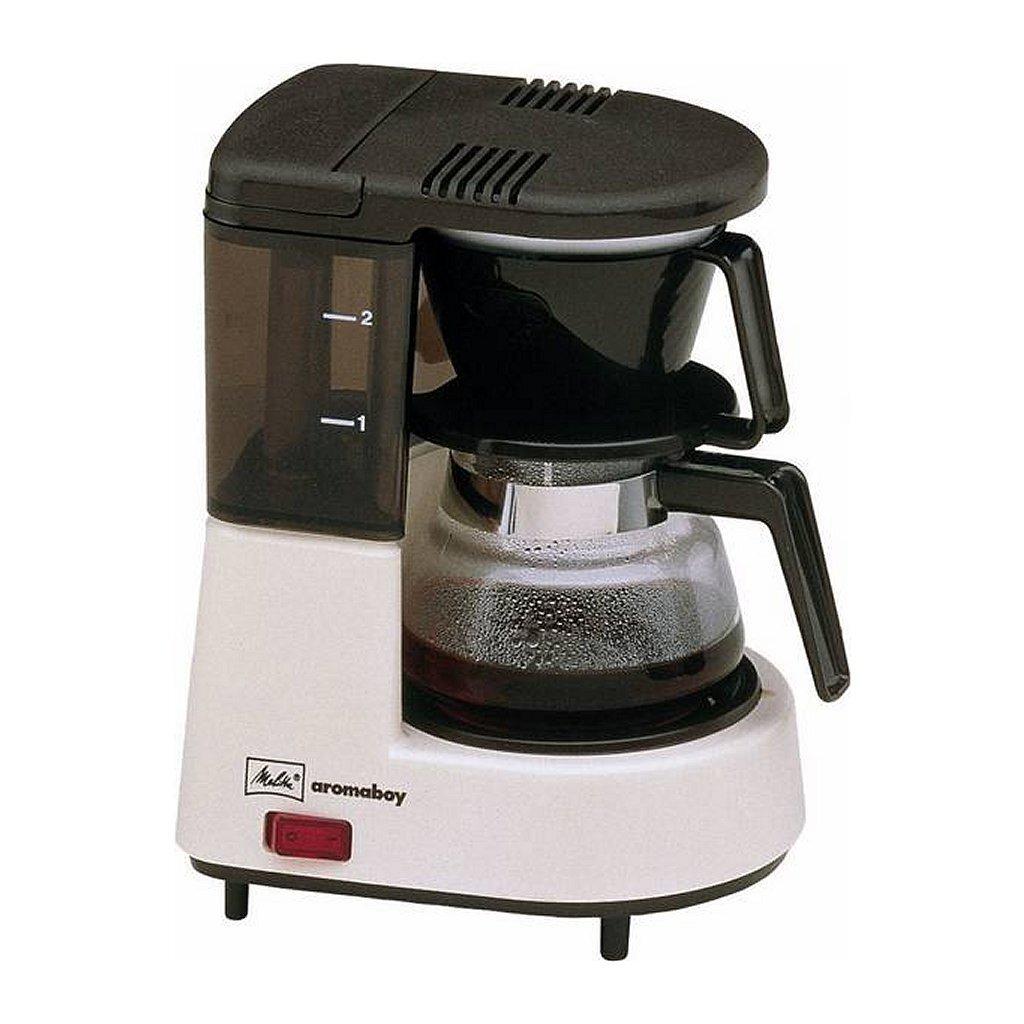 melitta 1015-03 aromaboy koffiezetapparaat beige/zwart