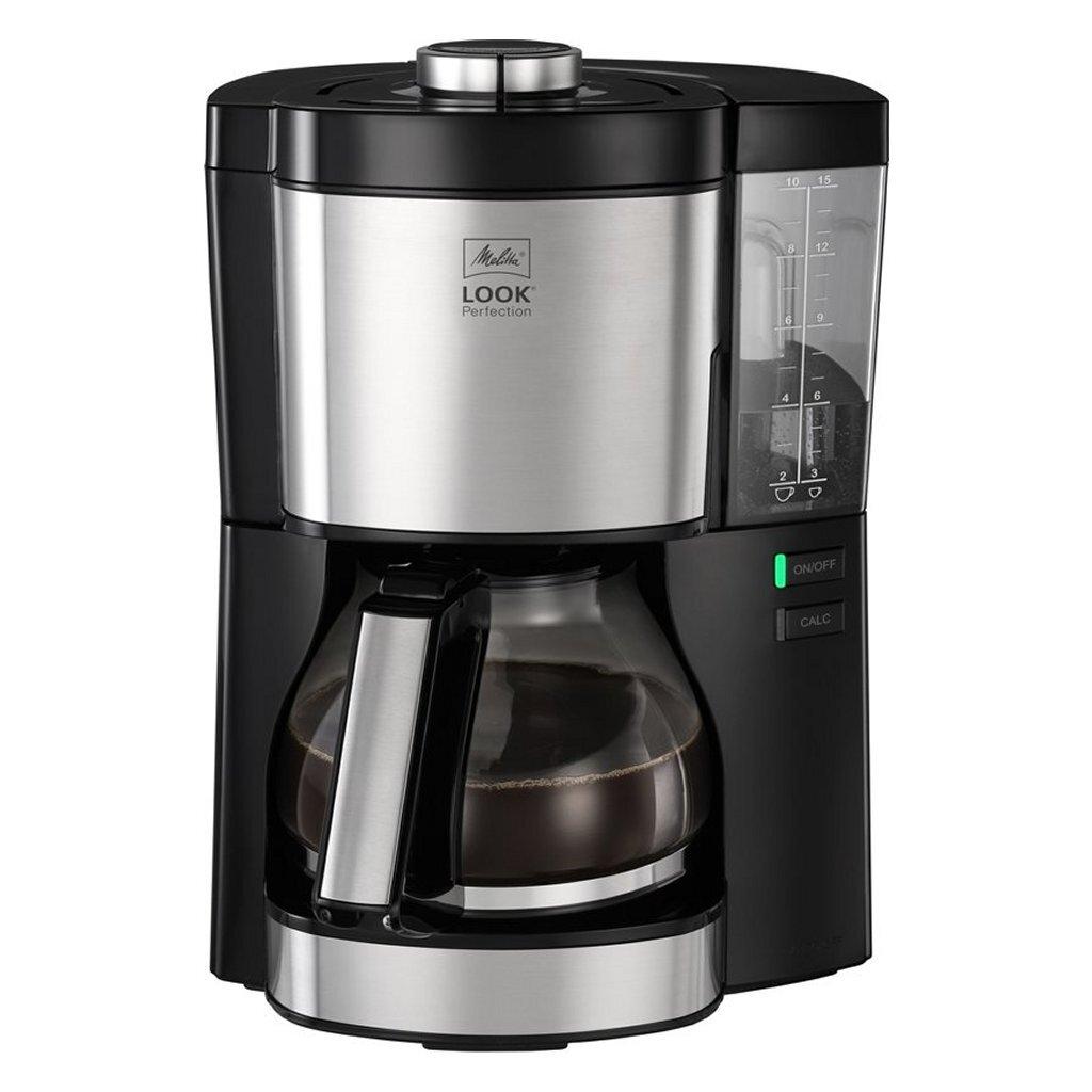melitta 1025-06 look perfection koffiezetapparaat zwart/rvs
