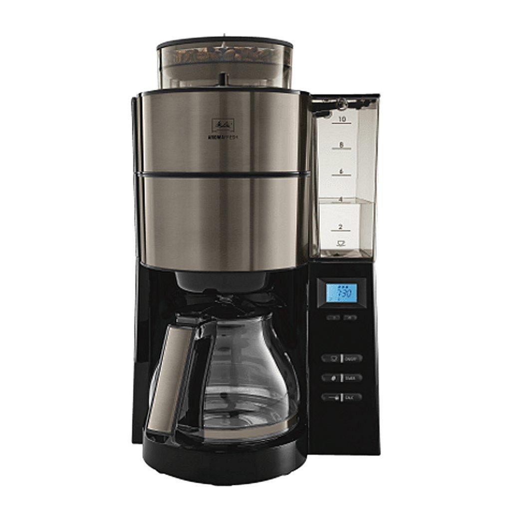 melitta 1021-03 aromafresh special colour edition koffiezetapparaat metallic/grijs