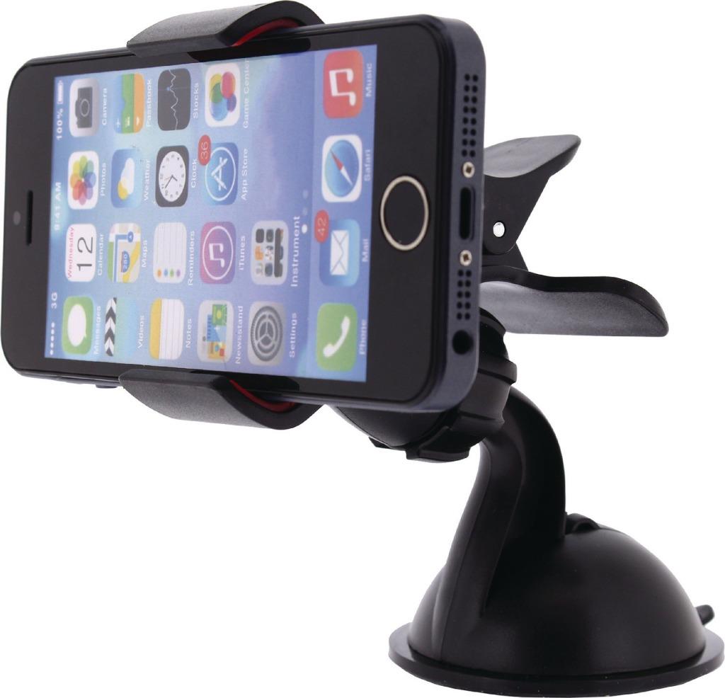 Mobilize MOB-21239 Universeel Smartphonehouder Autoraam En Dashboard Zwart