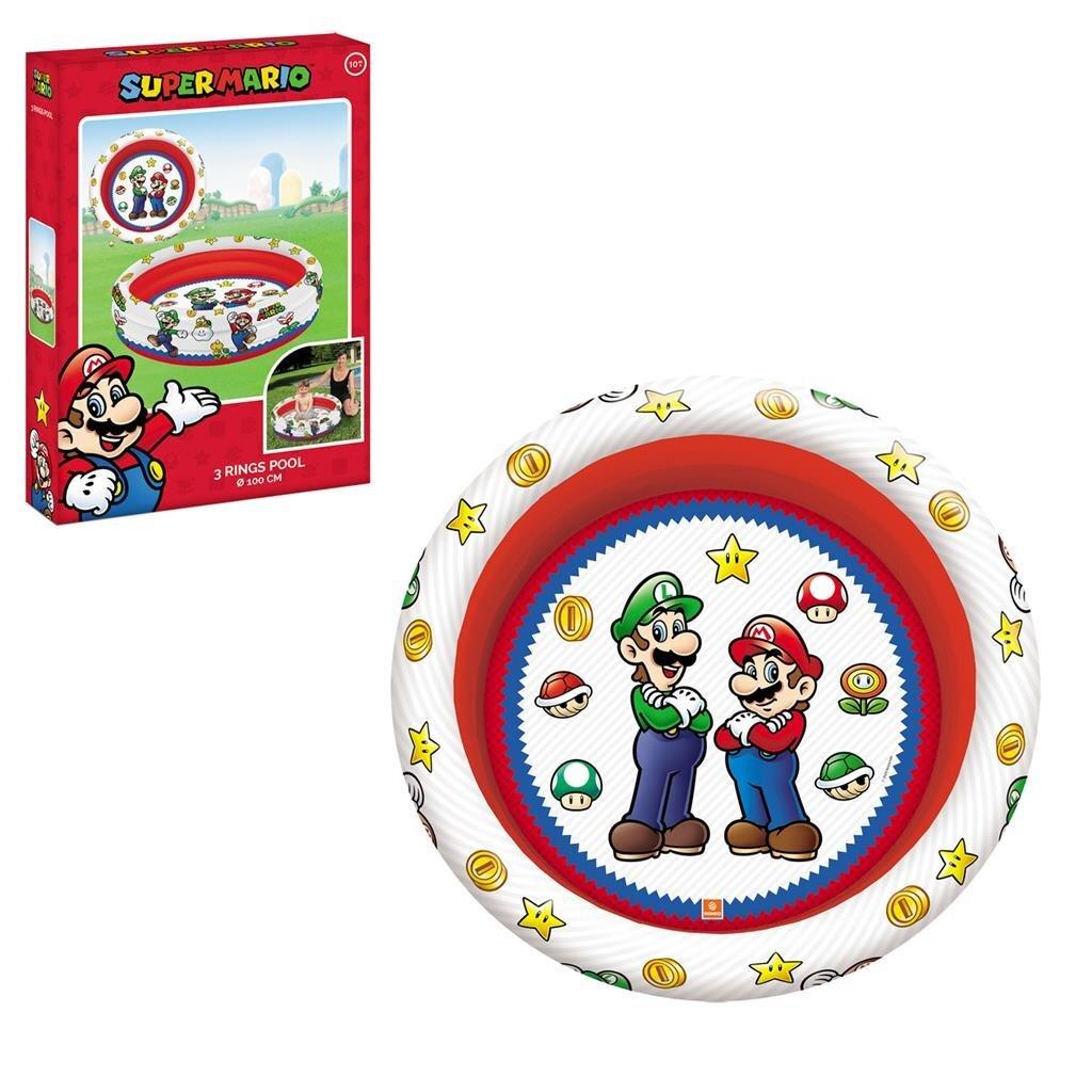 Mondo Super Mario 3-Rings Zwembad 100 cm