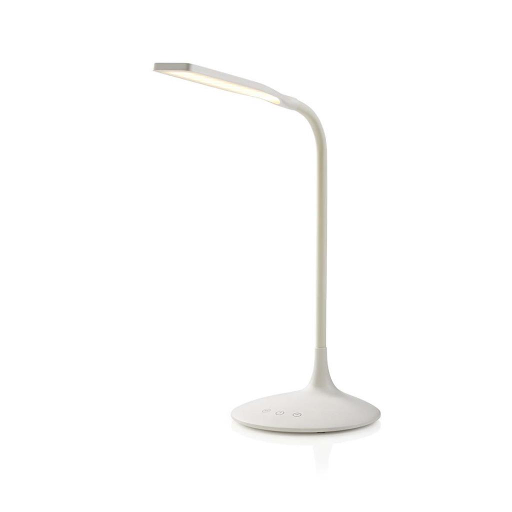 Nedis LTLG3M1WT2 Dimbare Led-tafellamp Aanraakbediening 3 Lichtmodi Oplaadbare Batterij 250 Lm