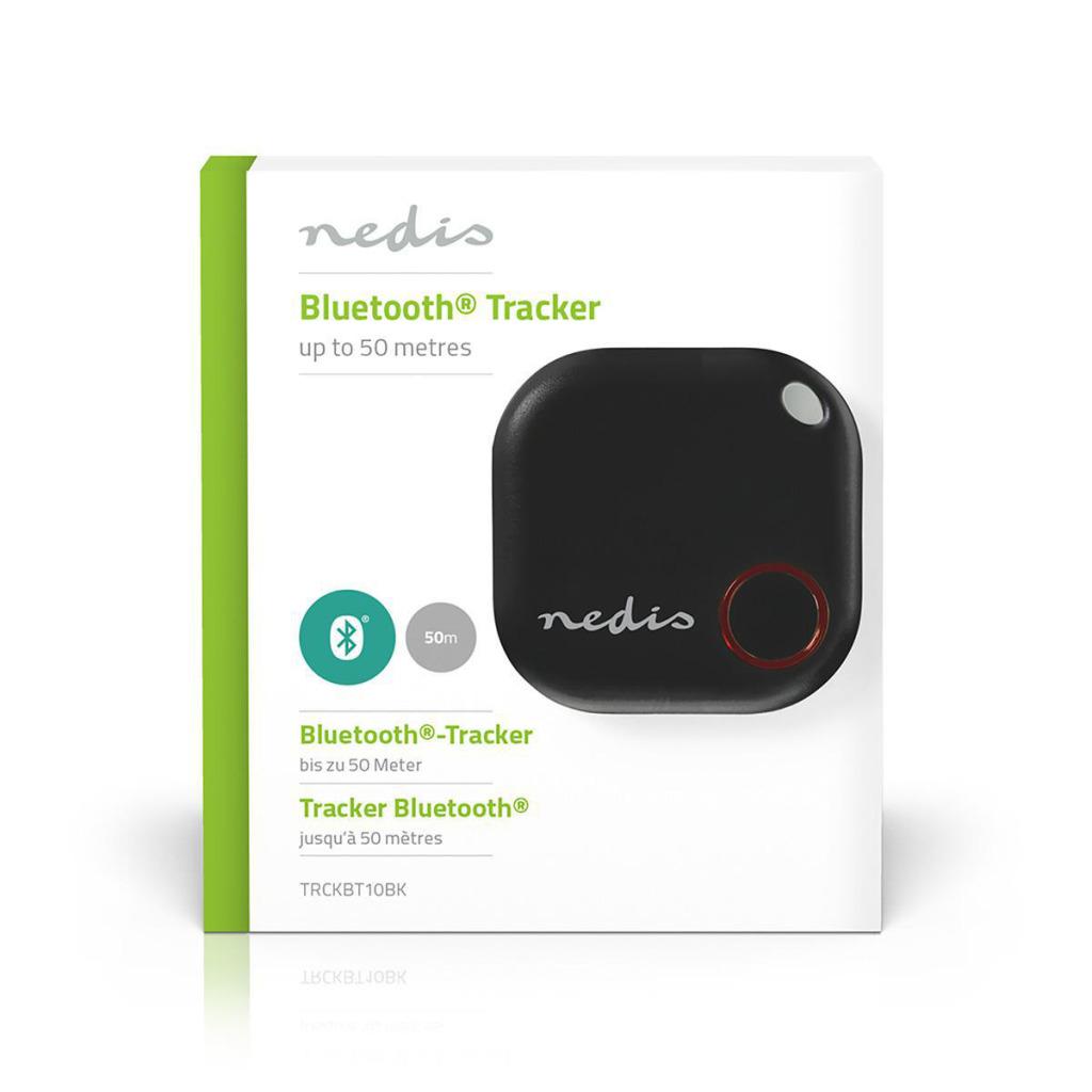 Nedis TRCKBT10BK Tracker Bluetooth Werkt Tot 50 M