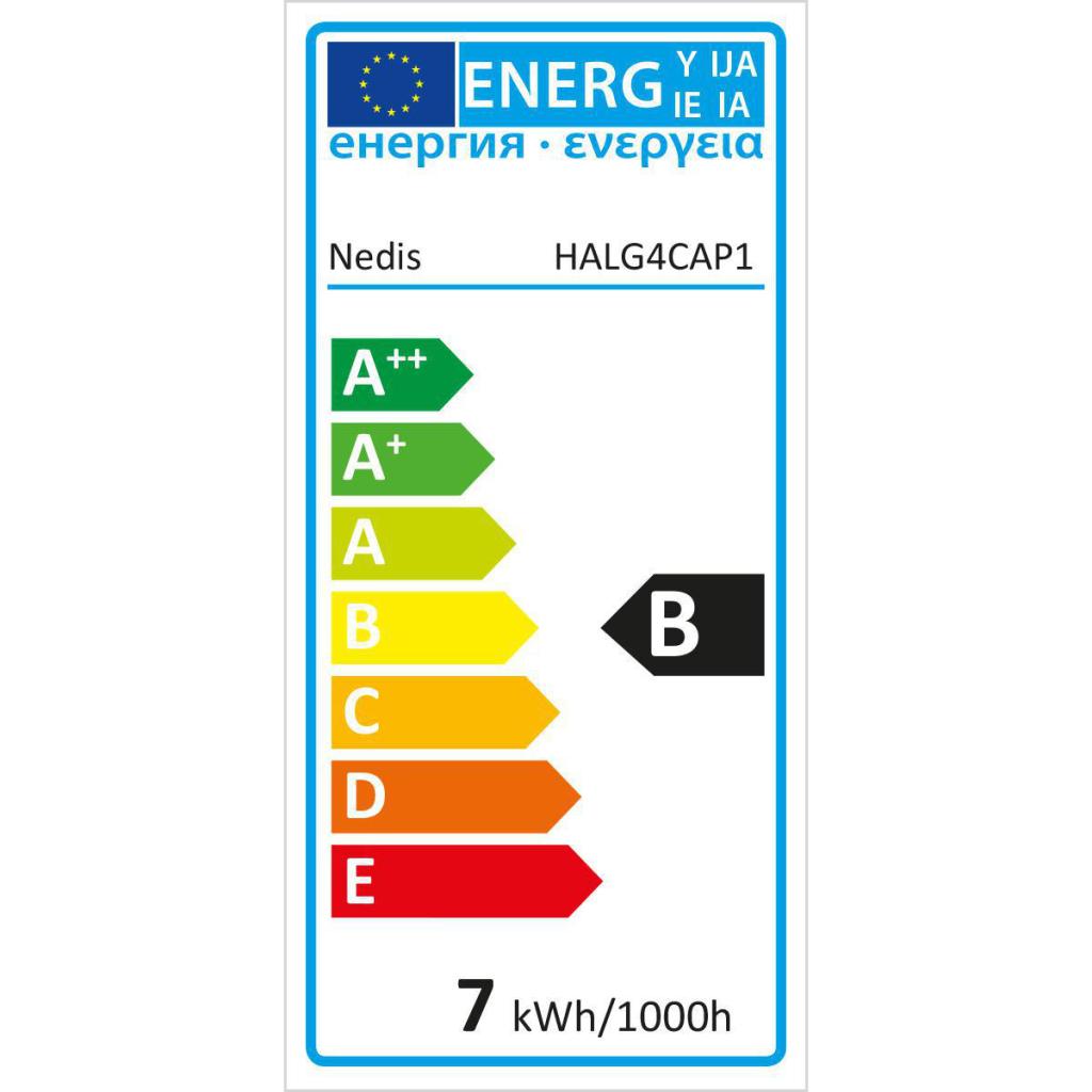 Nedis HALG4CAP1 Halogeenlamp G4 Capsule 5 W 35 Lm 2800 K