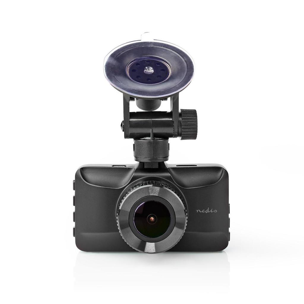 Nedis DCAM15BK Dashcam Full Hd 1080 P 1 Ch 3,0 Inch Kijkhoek Van 120° Metalen Behuizing