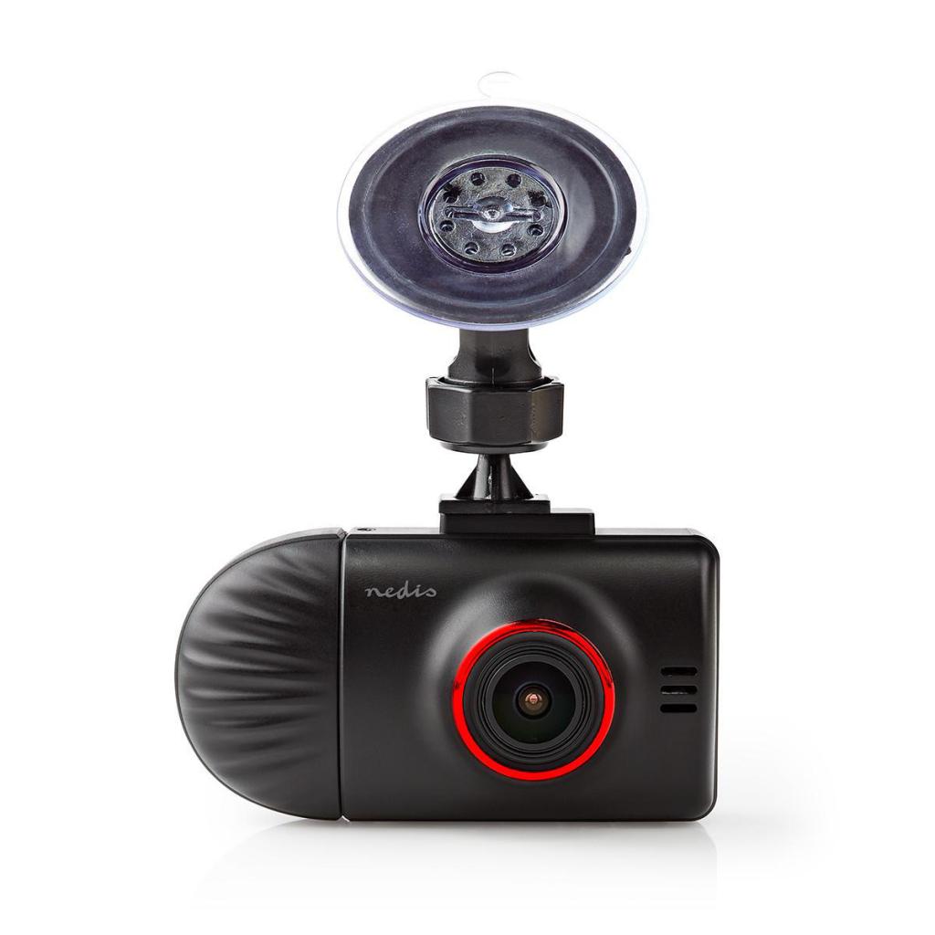 Nedis DCAM40BK Dashboardcamera Wide Quad Hd 1440 P (2 K) 2 Ch 2,31 Inch Kijkhoek Van 140°