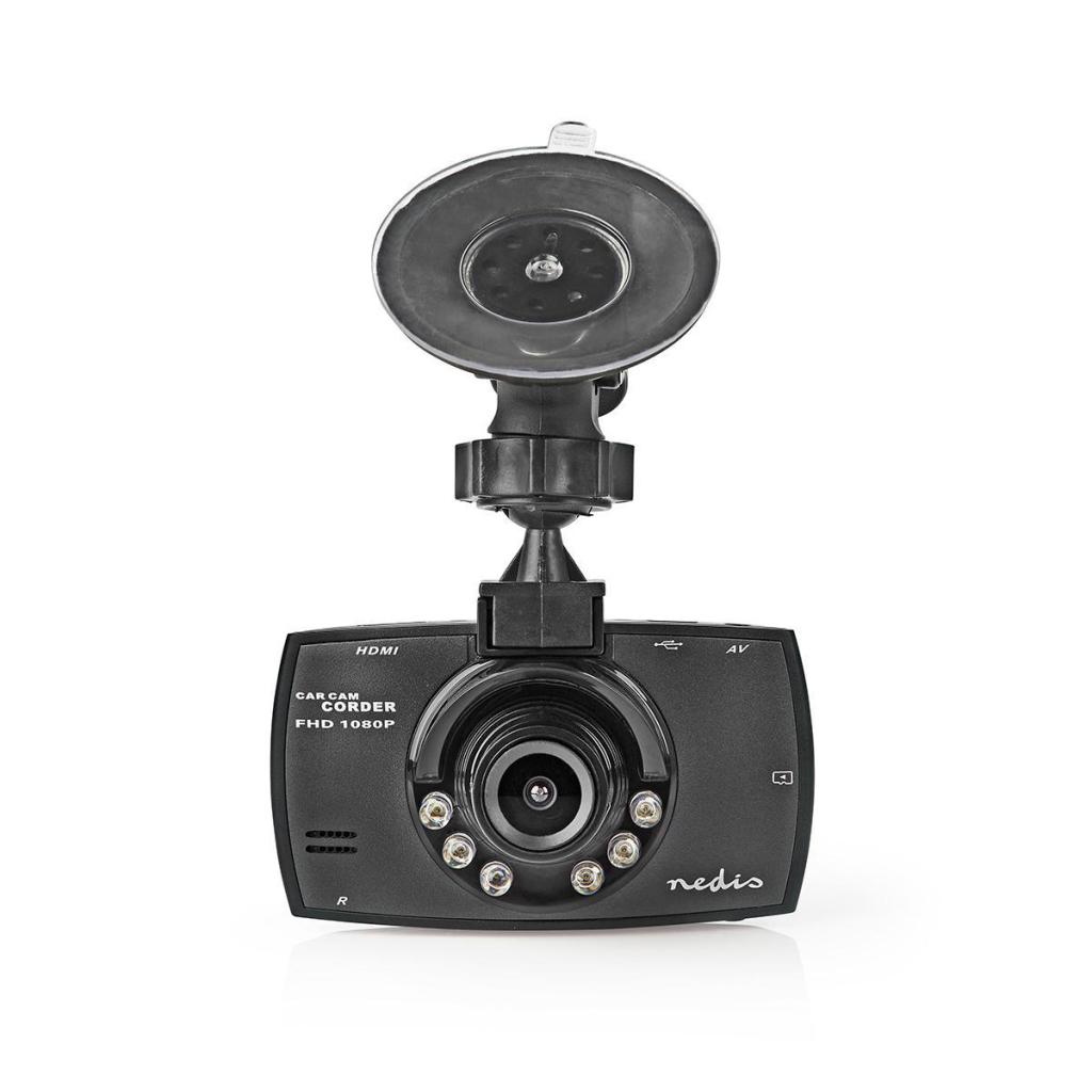 Nedis DCAM11BK Dashcam Full Hd 1080 P 1 Ch 2,7 Inch Kijkhoek Van 120°