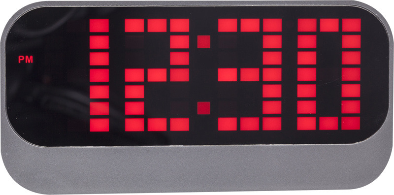 NeXtime NE-5211RO Wekker Loud 17.5x8.5x5cm ABS Rood