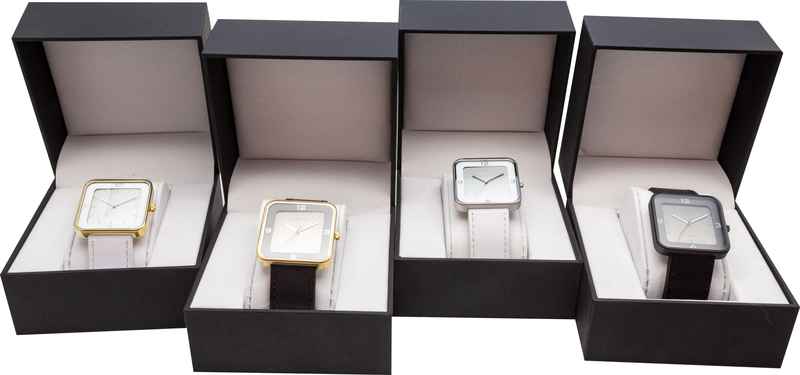 NeXtime NE-6021GW Horloge Square Wrist Wit/goud