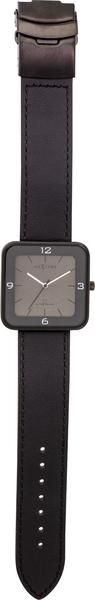 NeXtime NE-6021ZW Horloge Square Wrist Zwart