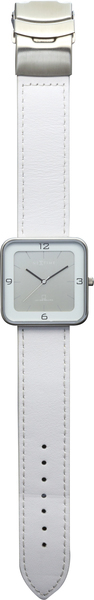 NeXtime NE-6021ZI Horloge Square Wrist Wit/zilver