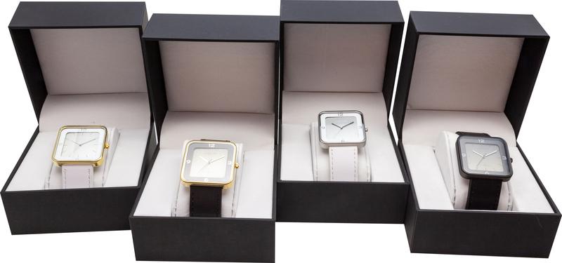 NeXtime NE-6021GB Horloge Square Wrist Zwart/goud