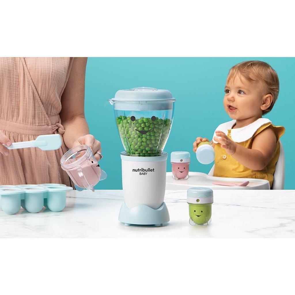 NutriBullet Baby Blender Blauw/Wit
