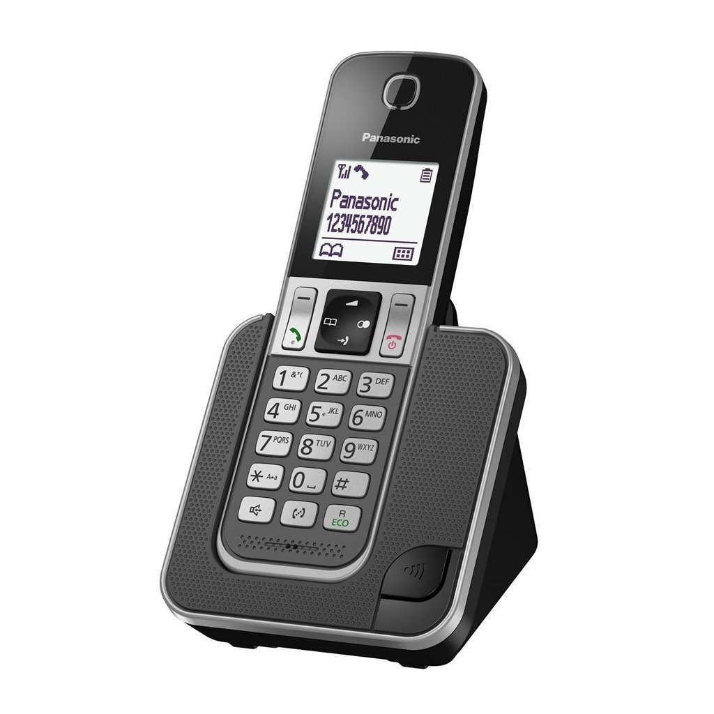 Panasonic KX-TGD310NLG Single DECT Telefoon Zwart/Grijs