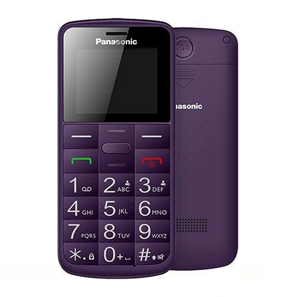 Panasonic KX-TU110EXV Mobiele Telefoon Dual Sim Paars