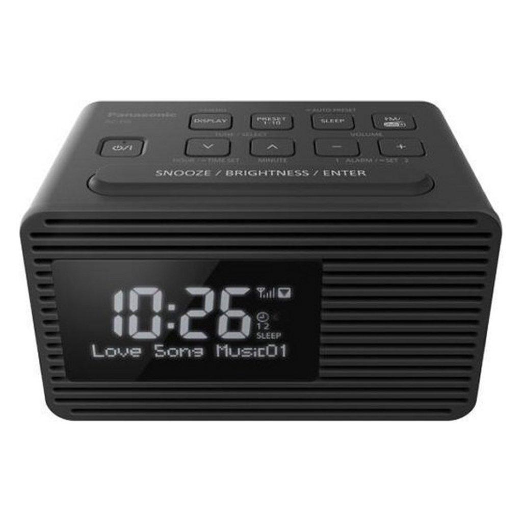 Panasonic RC-D8EG-K DAB+ Wekkerradio Zwart