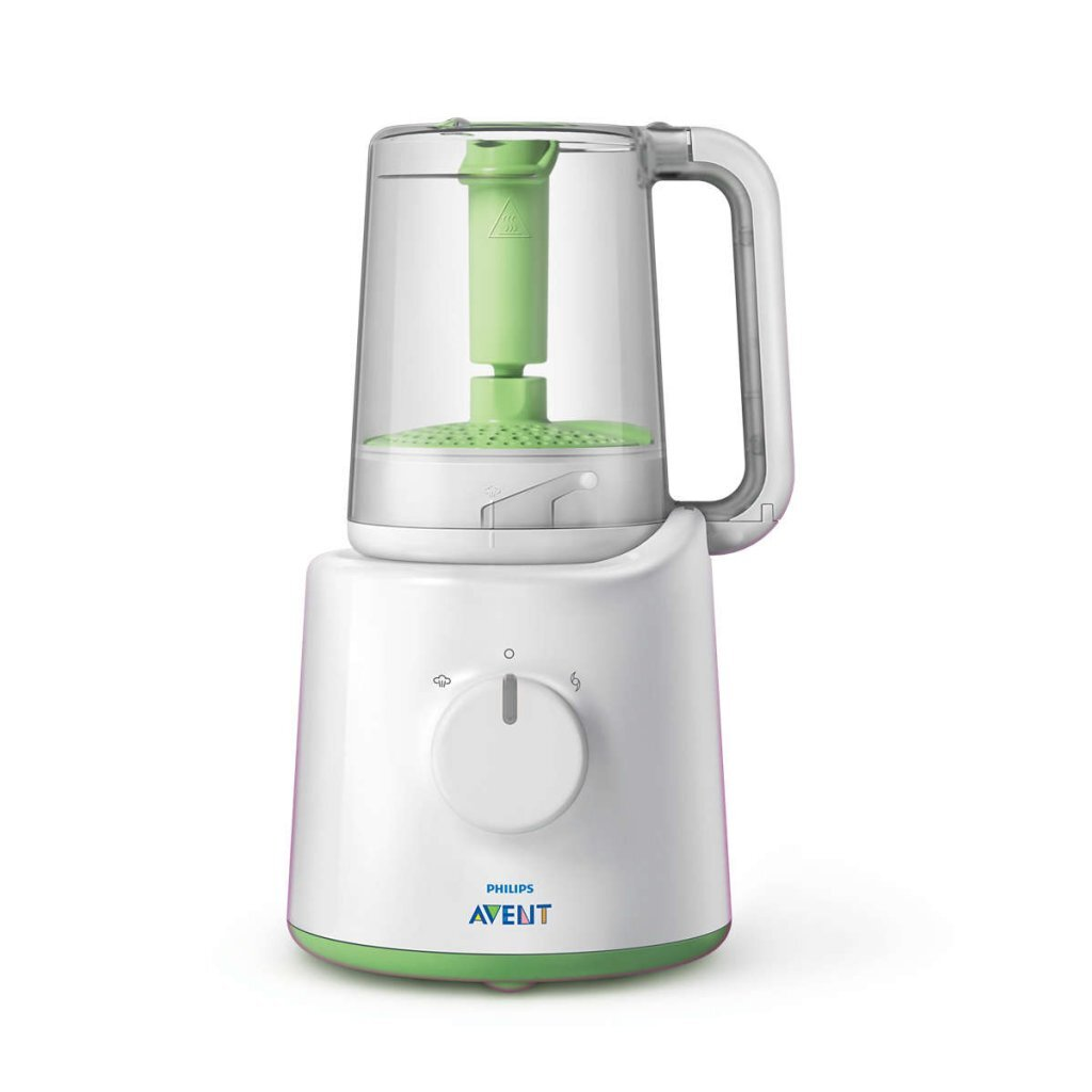 Philips SCF870/20 2in1 Babyvoedingmaker Wit/Groen