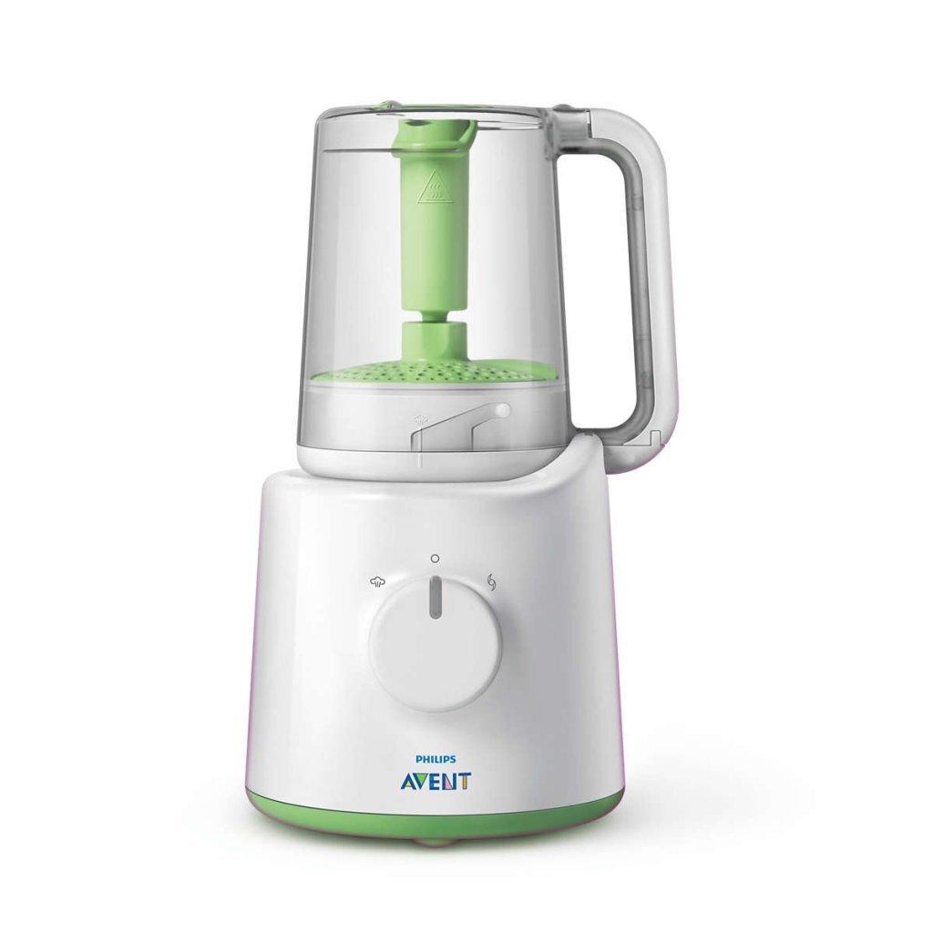 Philips SCF870/20 2in1 Babyvoedingmaker Wit/Groen