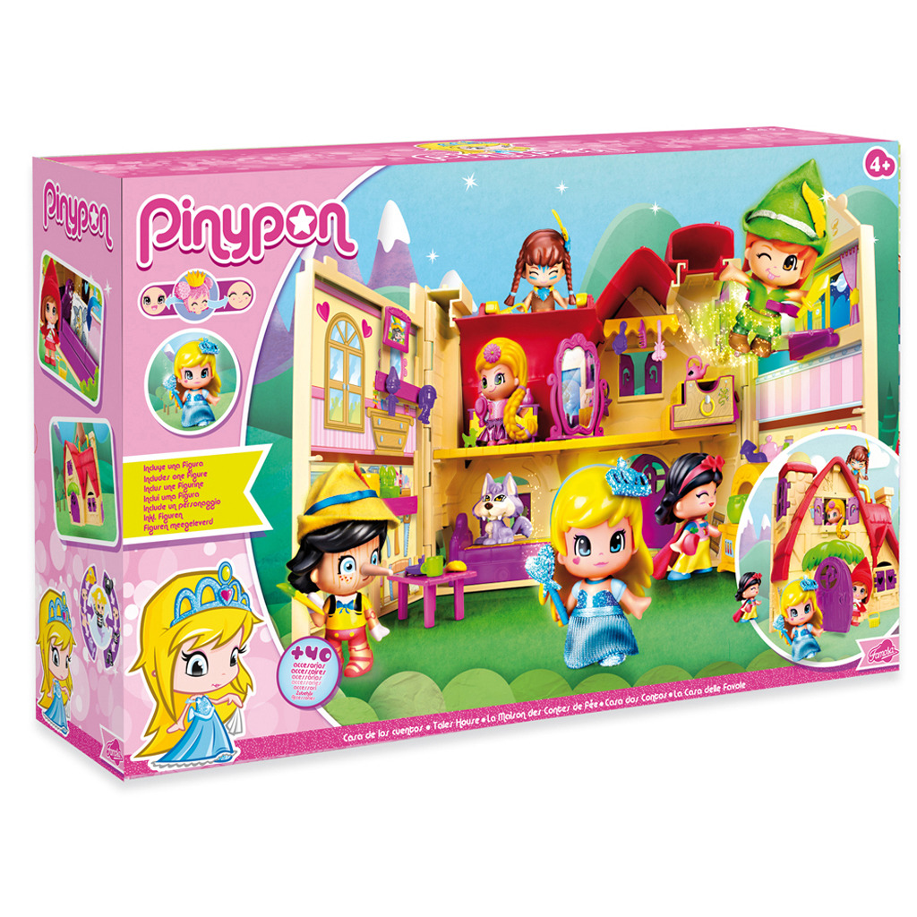 Pinypon Sprookjeshuis + Assepoester