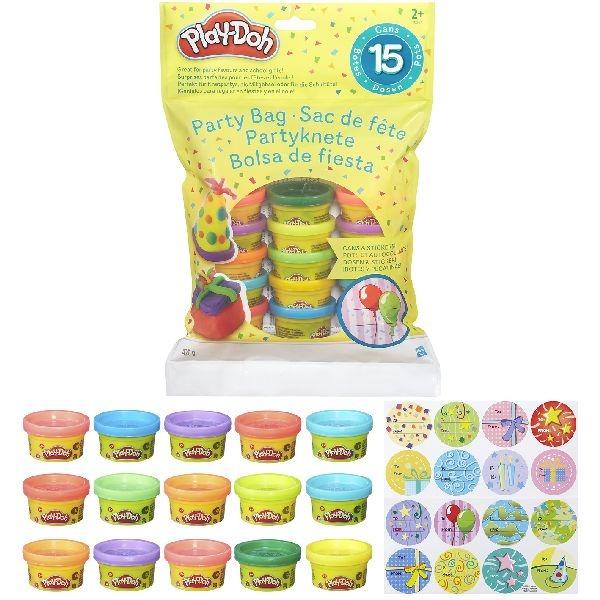 Play-Doh Party Bag met 15 Play-Doh Potjes